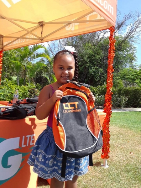 CCT's Back to School Drive held on Virgin Gorda  at the Walters Recreational Park on Sunday, August 26, 2018.