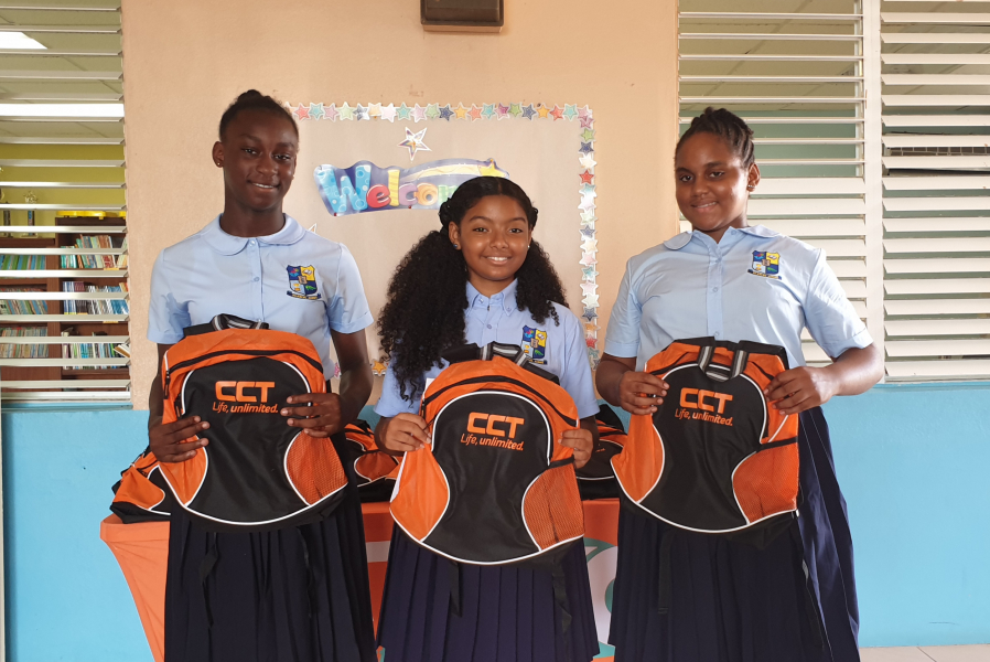 CCT's Back to School two-week campaign held Territory- wide from August 31 – September 11.
