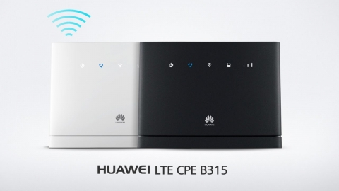 Huawei LTE CPE Router | CCT BVI | Life, unlimited